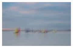 Yachts at West Kirby 031216 FRAMED (simonknightphotography) Tags: wirral cheshire merseyside west kirby hoylake beach lake yachts boats icm intentional camera movement december winter