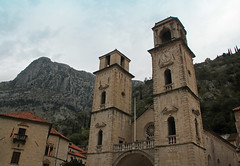 St Tryphon's Cathedral Kotor Montenegro (Lark Ascending) Tags: sttryphon cathedral kotor unesco montenegro balkans church towers