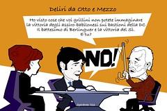Referendum costituzionale nel dibattito tra Scalfari e Di Battista parole surreali (SatiraItalia) Tags: satira di battista scalfari referendum