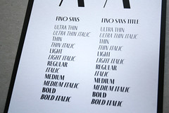 Fino (TypeTogether) Tags: fino erminmeđedović typetogether wwwtypetogethercom titling sansserif serif stencil sansserifstencil superfamily uppercase printedephemera modernmagconference goodiebag printed