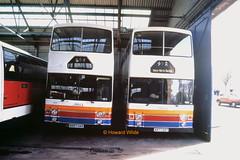 Ribble 2221 (B897 UAS), 2212 (A977 OST) (SelmerOrSelnec) Tags: ribble stagecoach leyland olympian alexander b897uas a977ost lancaster highlandomnibuses bus
