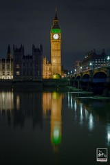 TIME OF RECKONING (Imaginoor Photography) Tags: architecture bigben clocktower gmt hossain imaginoorphotography london night reconning reflection shehab time traveler urban