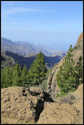 Overview near Ayacata, Gran Canaria