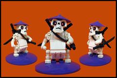 Rdobaketto the  Sumorai (Karf Oohlu) Tags: lego moc samurai sumo rdobaketto skull katana swordsman fist