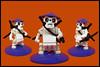 Rādobaketto the  Sumorai (Karf Oohlu) Tags: lego moc samurai sumo rādobaketto skull katana swordsman fist