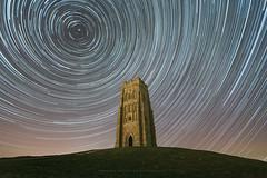 ART @ NIGHT (artursomerset) Tags: startrails night glastonburytor tower old building somerset stars astrophotography england longexposure sky