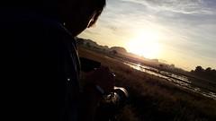 #docoshoot#sunrise#paddyfield