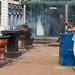 Anuradhapura: Ruvanvelisaya Dagoba - she considers the candles