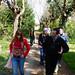 Caminants aplega estudiants de Vic, amics de Deriva Mussol i persones amb diagnòstic de salut mental. Foto: Deriva Mussol.