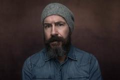 Self portrait (Nigel grieves) Tags: headshot godox portraiture beard flash onlyme portrait selfportrait strobe wideangle canon5dmkiii