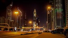 Dubai at Night (bunney183) Tags: dubai urban burj khalifa