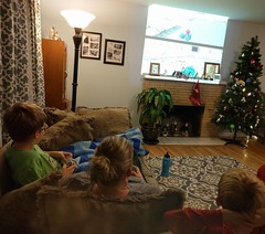 Intense times at the Shirey household as we Mario Kart to the death. (aeshirey) Tags: ifttt potd