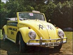 1970 VW 1200 Cabrio (/Reality Scanner/) Tags: cars vw vintage volkswagen munich mnchen scan historic autos cabrio historisch