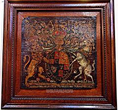 [34400] West Derby : Royal Arms (Budby) Tags: church liverpool heraldry coatofarms arms merseyside royalarms westderby
