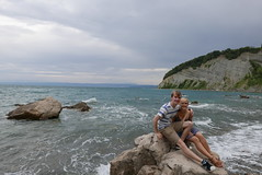 Moon Bay, Slovenia (andrewobrien2) Tags: sea water mediterranean panasonic slovenia piran peninsula adriatic istria istrian lx100