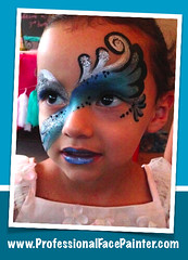 Face Painted Fairy. (professionalfacepainter) Tags: birthday girls art face glitter kids fun artist body parties professional entertainment fairy artists painter orangecounty themed oc professionals hire licensed lagunaniguel insured