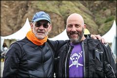 Mc Bauman con José M Alegre
