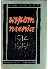 Wspomnienia 1914-1919 (novasarmatia) Tags: książka książki wspomnienia antykwariat 19141919