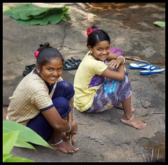 Priceless smiles   @  Cheerful Adivasi Kids In Forest (Indianature14) Tags: india nature smile forest children september maharashtra westernghats monsoons mahuli indigenouspeople 2015 adivasi indianature thanedistrict pricelesssmile vashind adivasichildren
