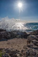 Mareggiata verticale (Antonio Ciriello PhotoEos) Tags: blue autumn sea italy canon t landscapes rocks italia mare waves seascapes blu tokina autunno paesaggi puglia onde taranto marini scogli apulia 1116 600d tramontone tokina1116 eos600d canoneos600d rebelt3i