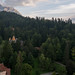 Carpathian mountains behind Sinaia, Romania with Lumix DMC-GM1