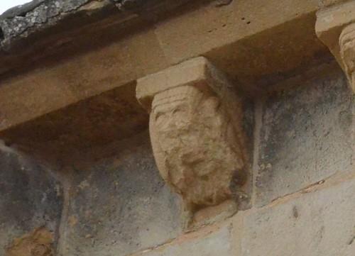 San Martin de Unx (Navarre), église San Martin - sculpture romane - 02
