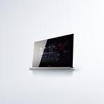 デジタルハイビジョン液晶テレビ向けユーザーインターフェースの写真