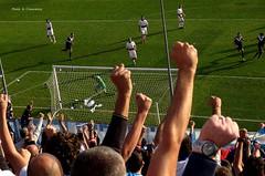 Celebrating. (Antonio Cravarezza) Tags: football stadium fans brescia