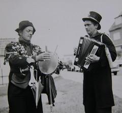 busker - denmark 1960's (achatphoenix) Tags: street musician denmark hirtshals 1960s busker dnemark danmark rollingstones sixties tramps
