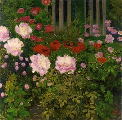 moser_blooming_flowers_with_garden_fence (Art Gallery ErgsArt) Tags: museum painting studio poster artwork gallery artgallery fineart paintings galleries virtual artists artmuseum oilpaintings pictureoftheday masterpiece artworks arthistory artexhibition oiloncanvas famousart canvaspainting galleryofart famousartists artmovement virtualgallery paintingsanddrawings bestoftheday artworkspaintings popularpainters paintingsofpaintings aboutpaintings famouspaintingartists