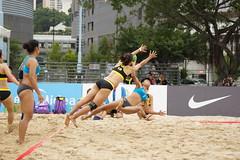 DSC03851 (rickytanghkg) Tags: beach hongkong championship women sony international match 70300mm handball 70300g descalças a550 filosofianatural sonya550