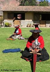 Quechua Weavers (lugi_ch) Tags: travel people peru inca cuzco cusco sacredvalley urubamba nationalgeographic quechua solyluna lindbladexpeditions urubambavalley wayraranch