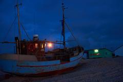 Old Ship (danil_srd) Tags: beach night nikon ship danmark vorupr d7200