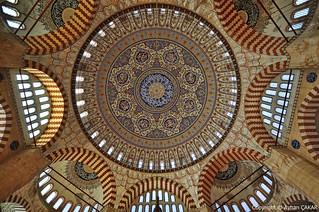 Edirne Selimiye Complex Inside