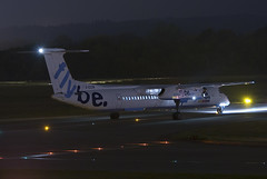 G-ECOR (scot_w_9) Tags: nightphotography scotland aviation luftfahrt egph edinburghairport luchtvaart luftfart gecor
