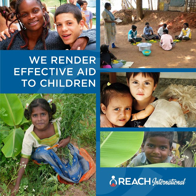 REACH International brochure cover