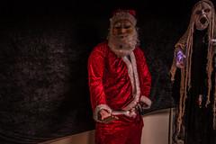Santa The Pervert (A.Nilssen Photography) Tags: santa red party portrait people halloween nikon evil best claus pervert d7100