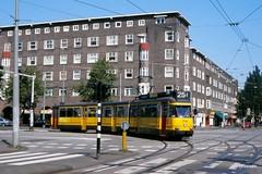 Amsterdam (Jan Dreesen) Tags: tram tramway streetcar trolley amsterdam gvb 25 victorieplein 7g bolkop bolneus