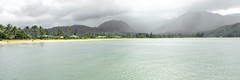 Hanalei Bay (daniel_james) Tags: usa rain hawaii kauai 31 hanalei hanaleibay 2015 canon1022mm