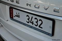 Qatar (Helvetics_VS) Tags: licenseplate qatar