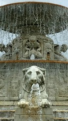 Scott Memorial Fountain - Belle Isle, Detroit, Mi (technoninja14) Tags: history water fountain scott memorial michigan tiger detroit historic huge marble belleisle