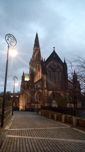 La cathédrale de Glasgow, Écosse