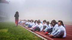 ..concentrazione nella nebbia