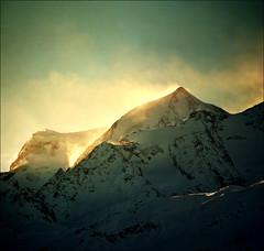 Early morning on Verbier (Katarina 2353) Tags: morning winter mountain alps film landscape switzerland nikon europe swiss verbier katarinastefanovic katarina2353