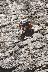 Cajn del Maipo - Valles las Arenas (6) (lxrdrg) Tags: climbing montaa escalada cajondelmaipo escaladadeportiva vallelasarenas pareddejabba pareddejabbah