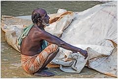 Bengali Man (dark-dawud) Tags: man bangali bangladesh oldman sylhet nabiganj kalabourpur asian asia poor worker friend