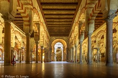 Cathdrale/mosque Cordoue, Espagne Cathedral Cordoba, Spain (OliPhil_997) Tags: alcazar cathedrale cordoba cordoue espagne mosquee sevilla seville spain eglise