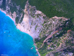 Kollia beach, Liapades, Corfu (Bill-Metallinos) Tags: corfu greece mediteranean metallinos liapades paleokastritsa paradise beach kollia beautiful aerial crystal waters pinetrees kerkira vinti cape blue turquoise ionian sea travel korfu palaiokastritsa green landscape landmark seascape seashore