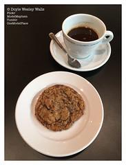 Coffee, San Francisco (Doyle Wesley Walls) Tags: lagniappe 3410 coffee cookie sfmoma sanfrancisco beverage caffeine chocolatechipcookie sweet cup spoon photograph iphonephoto smartphonephoto doylewesleywalls