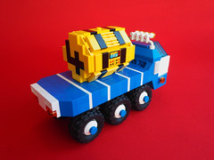 Space Lorry (David Roberts 01341) Tags: lego lorry truck transporter 6x6 allterrain minifigure space scifi